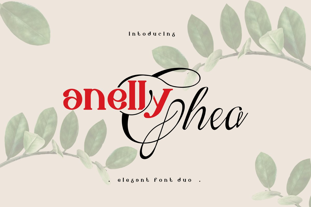 Anelly - Font Duo example image 1