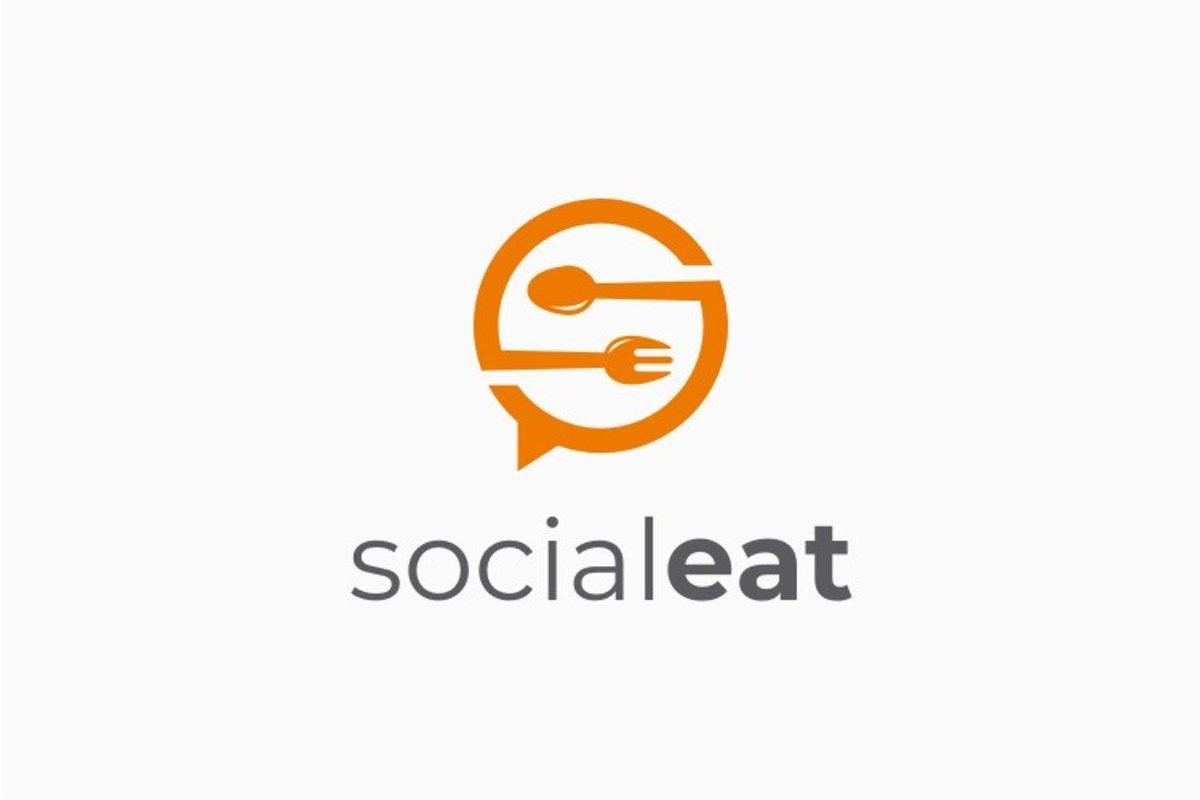 Social Eat - S Logo example image 1