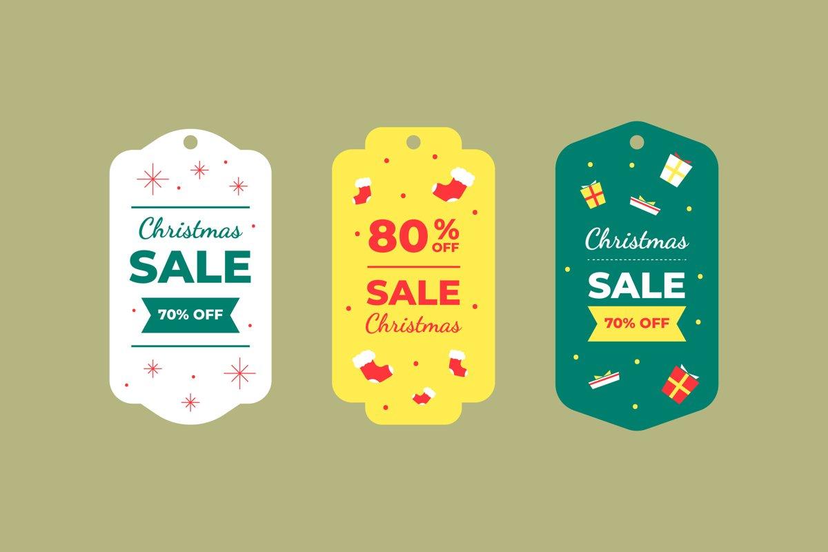 Christmas Sale Tag example image 1