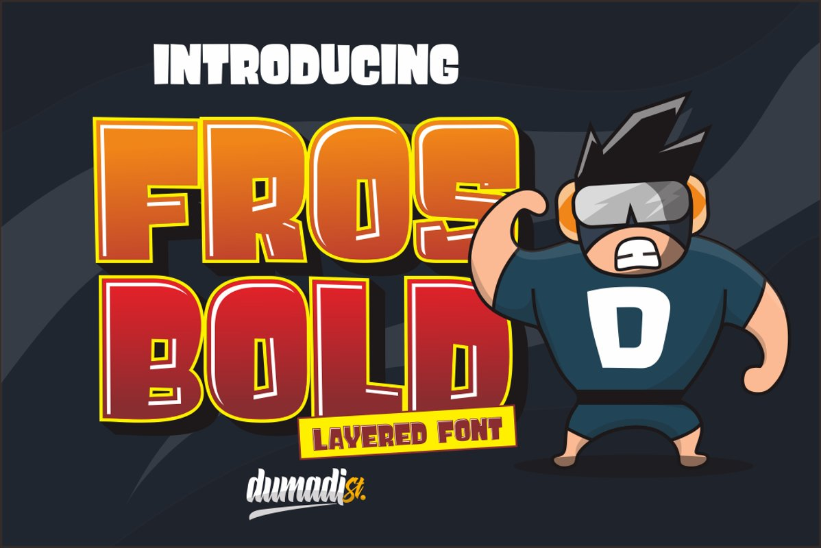 Fros Bold example image 1