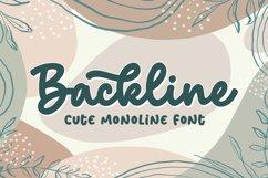 Backline - Cute Script Font Product Image 1