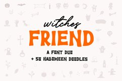 Witches Friend   Font Duo Product Image 1