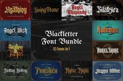 Blackletter Font Bundle Vol 1 Product Image 1