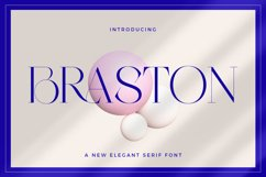 Braston - Elegant Serif Font Product Image 1