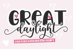 Great Daylight Duo Font Product Image 1