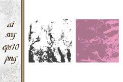 Ink brush strokes shape Grunge background Product Image 1