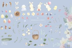 EASTER clipart. Watercolor set Product Image 3