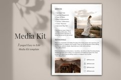 Influencer Media Kit Template, 3 Pages, Canva Product Image 5