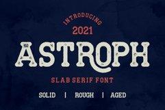 Astroph - Retro Slab Serif Product Image 1