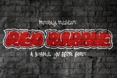 Red Bubble - Graffiti Font Product Image 1