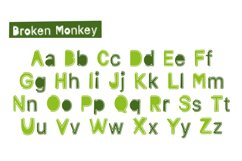 Broken Monkey - playful font Product Image 4
