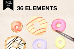 WATERCOLOR DONUTS Product Image 3