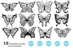 Butterflies Clip Art | Vector files Product Image 6