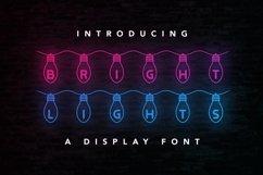 Web Font Bright Lights Product Image 1