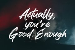 Realistic Theory - Powerful Brush Font Product Image 2