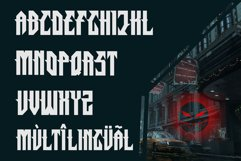 Straight - Powerful Esport Font Product Image 2