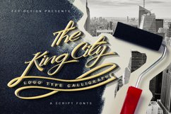 King City - Logo Type Calligraphy Product Image 1