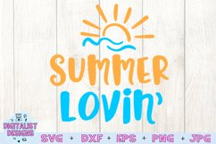 Summer Lovin SVG, Summer SVG, Beach SVG Product Image 3