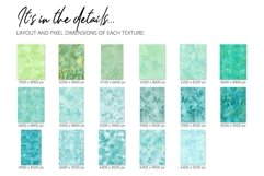 17 Huge Seamless Green Watercolor Textures Product Image 3