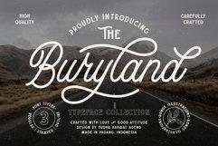 Buryland Typeface Collection Product Image 1