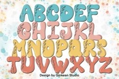 Alphabet brushes, 26 Alphabets brush stamp procreate, leaf Product Image 1