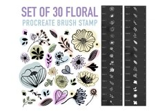 Procreate Brush stamp, Christmas Element Stamps Product Image 2