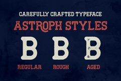 Astroph - Retro Slab Serif Product Image 3