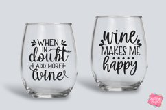 Wine Quotes Bundle SVG, EPS, DXF, PNG Product Image 2
