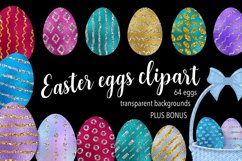 Easter Eggs Clipart Product Image 1