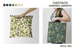 CHESTNUTS vector seamless patterns Product Image 4
