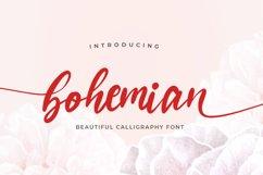 Bohemian - Script logo font Product Image 1