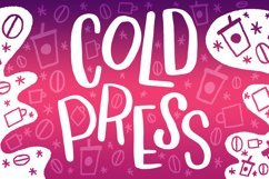 Cold Press Font Product Image 1