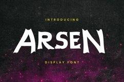 Web Font Arsen Font Product Image 1