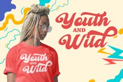 Retro Young - Vintage Bold Font Product Image 4