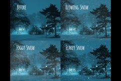 Realistic falling snow overlays Product Image 5