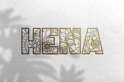 KEYZHA Mandala Font Product Image 21