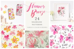 Flower Breeze - Seamless Patterns Product Image 1