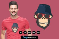 Cool Monkey for T-shirt Design for T-Shirt Design Product Image 1
