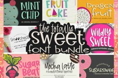 Totally Sweet Font Bundle Product Image 1