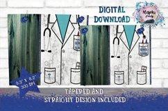 HealthCare 20oz Skinny Tumbler Sublimation Design Bundle Product Image 5