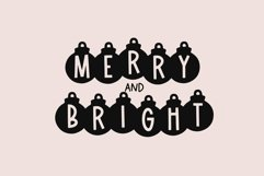 Web Font Lights - A Fun Holiday Font Product Image 2