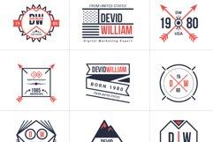 Retro Badge Logo Collection Bundle Product Image 2