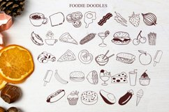 Sweet Potato Pie - a fun font with foodie doodles Product Image 3