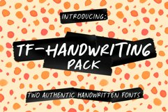 TF-Handwriting Pack Product Image 1