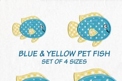 Pet Fish Applique Embroidery Size Pack Product Image 2