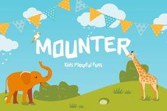 Mounter Kids Playful Display Font Product Image 1