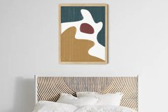 Abstract Shapes Print, Boho Decor, Mid Century Modern Art Product Image 4
