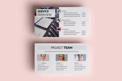 PPT Template | Project Proposal - Pink and Marble Product Image 6