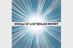 "12 Designs - 12"" x 12"" Solar Flare Bursts Set Product Image 4"
