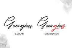 Georgiess Signature | Elegant Signature Font Product Image 3